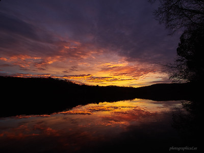 Sunrise on Melton Hill Lake