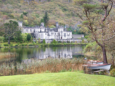 Kylemore Abbey. Honorable mention, Digital scenics, CCOR Salon 2013