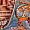 Auto Junk Yard - Grill and Headlight