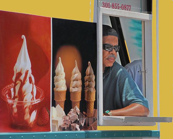 Ice Cream Vendor at the Art Fest - Baltimore