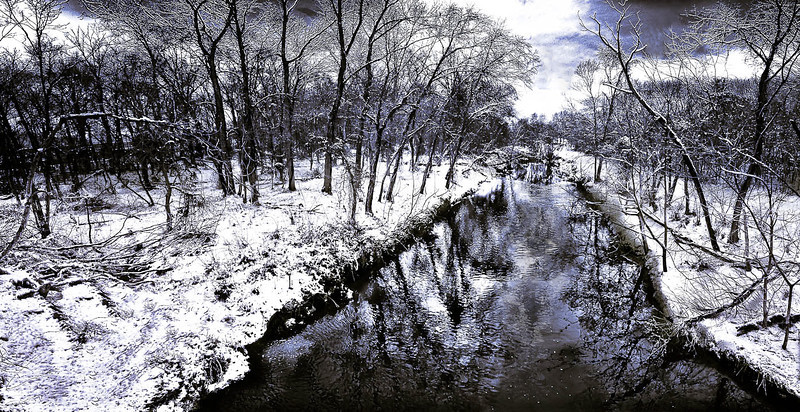 "Artemesian Winter Stream - Augen 2013<br> <a href=""http://www.lightspacetime.com/seasons-2012-photography-digital-category/"">Honorable Mention in Light, Space & Time Seasons 2012</a>"