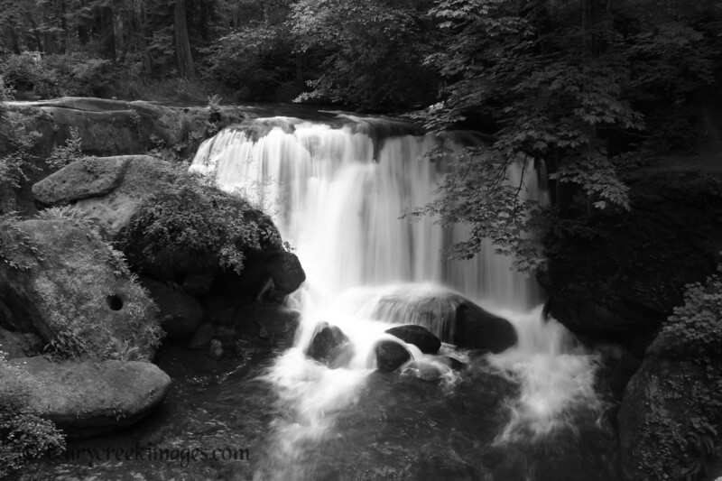 Whatcom Falls, Cascade Mountains, Washington<br /> <br /> Third Place, Waterscape - Washington County Fair 2006