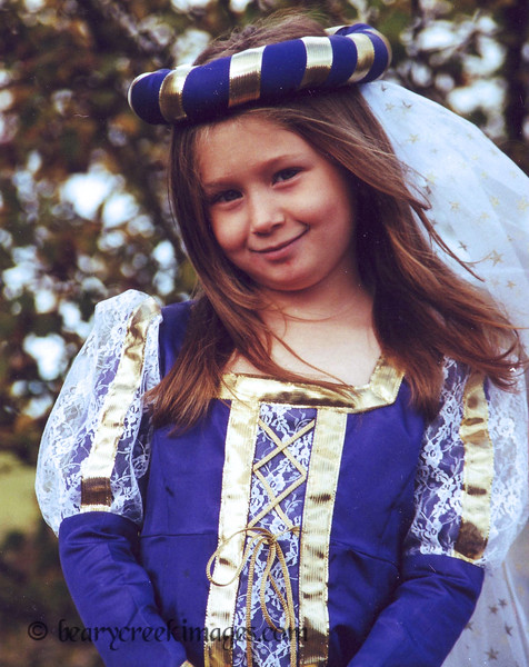 Princess<br /> <br /> First Place, Child Portrait - Washington County Fair, 2007