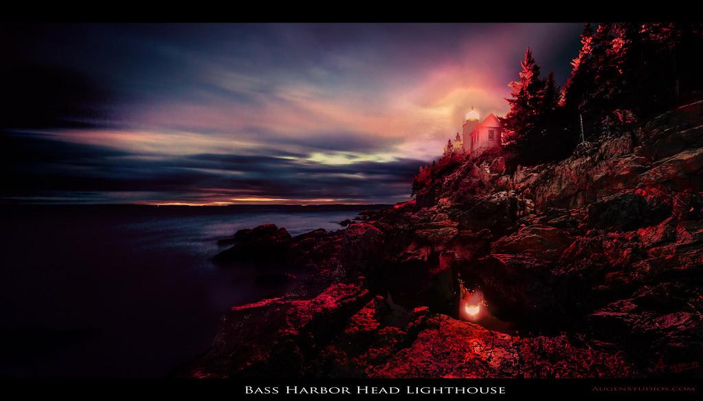 "Bass Harbor Head Lighthouse - Augen 2012<br> <a href=""http://www.digitalartscalifornia.com/?p=3568"">Exhibited in Digital Arts California: True Colors Two 2013</a>"