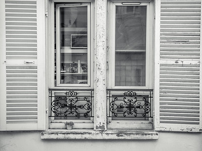 Parisian Rear Window