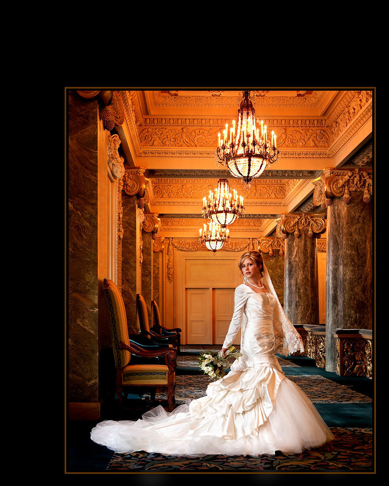 Palace Of Love by Jerry Hansen 1st Place Masters Wedding Portrait