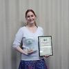 Alec Salisbury Award winner - Sarah Bell