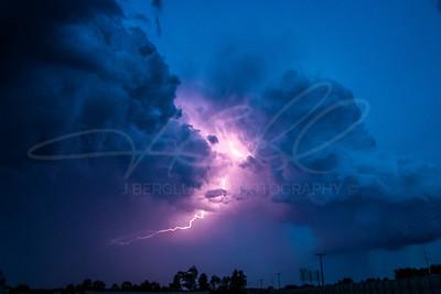 Lightning Storm - Sheboygan, WI 2017