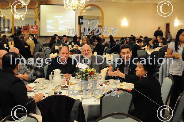 Aurora Hispanic Advisory Board Pete Perez Award at Gaslite Manor in Aurora, IL 1-25-13