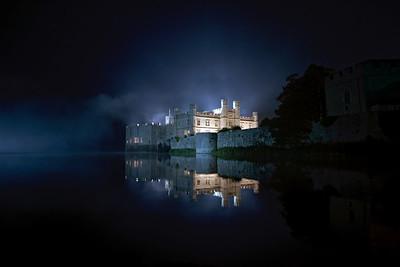 Leeds Castle by night