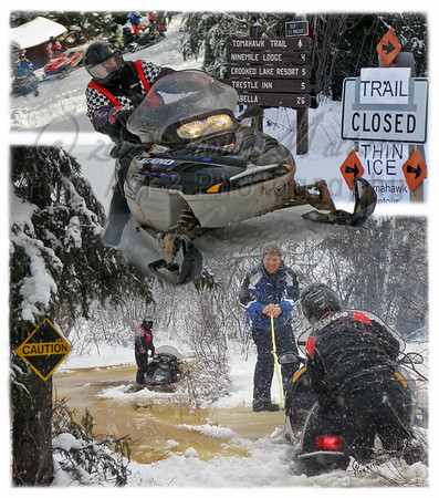 """""""Joy of Snowmobiling""""<br /> <br /> *  1st Place - May 2012 - MVPC Montage"""