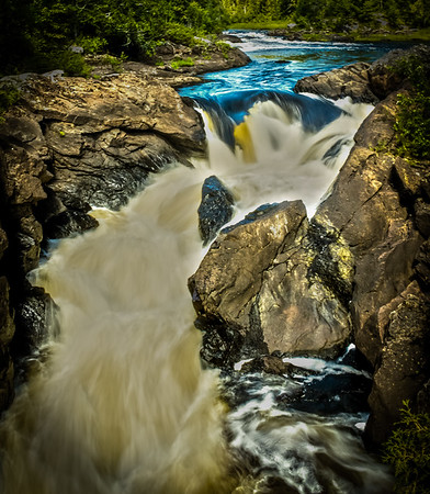 """Vermillion Falls - Superior National Forest""<br /> <br /> Honorable Mention - N4C - November 2012"