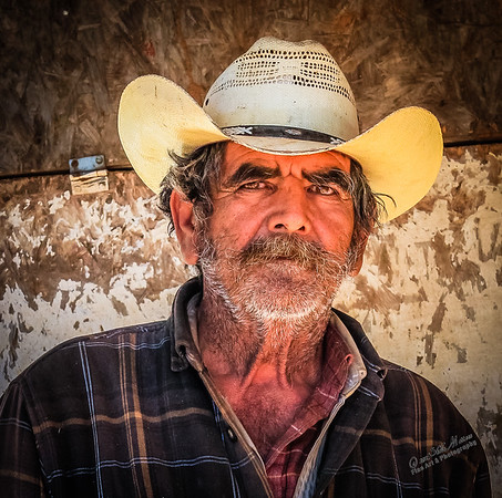 """Mexican Cowboy""<br /> <br /> *  Winner of Photograph of the Year 2012/13 - MVPC Pro Digital<br /> *  2nd Place - March 2013 - MVPC Color Open"