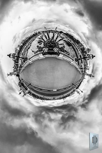 Pont Alexandre III - La Seine