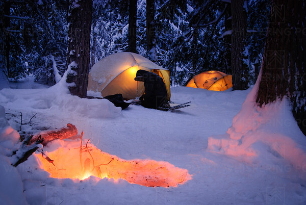 Porcupine Mountains Winter Camp (161)