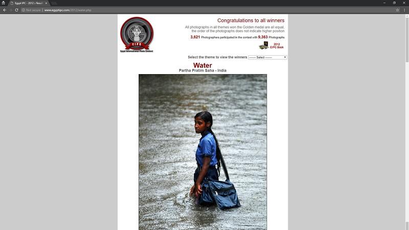 Gold Medal winner - Egypt International Photo Contest 2012