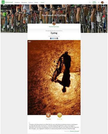 Photocrowd Expert 1st - Category - Cycling - July, 2015