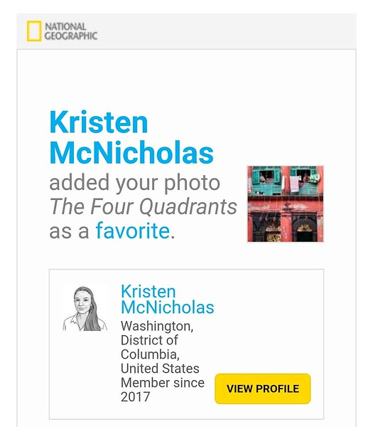 Editor's Favorite - The Four Quadrants