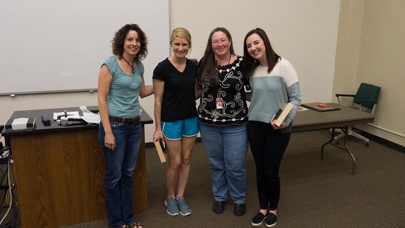 Outstanding Biology Seniors Rachel Rindom and Miranda Smith!