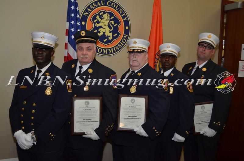 Nassau County Fire Commision Awards Ceremony (Lobby Photos) 4-17-13-19