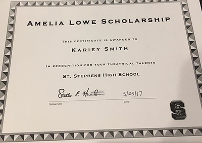 The Amelia Lowe Scholarship