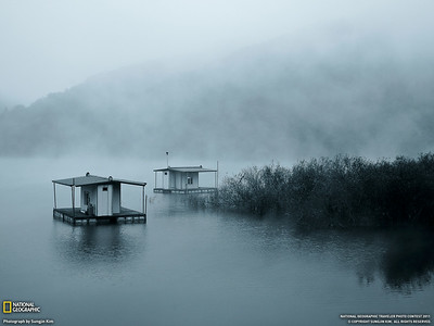 Dawn, Hwacheon (National Geographic Photo of the day, June 22 2011)