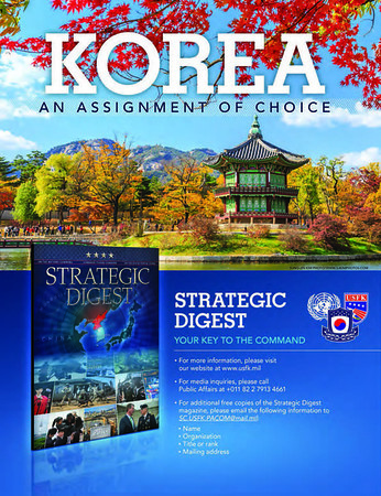 Strategic Digest 2016, Magazine Published by United Nations Command, U.S. - ROK Combined Forces Command, U.S. Forces Korea