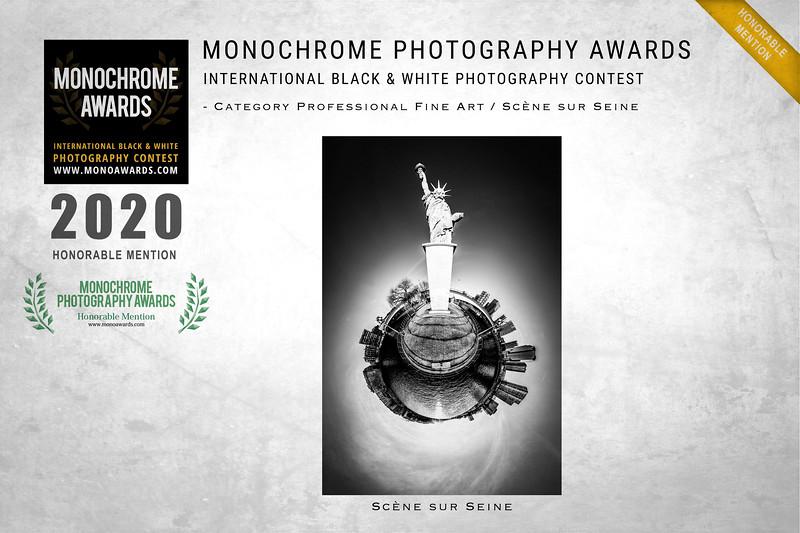 MONOCHROME International B&W Photo Awards 2020