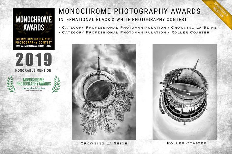 MONOCHROME International B&W Photo Awards 2019