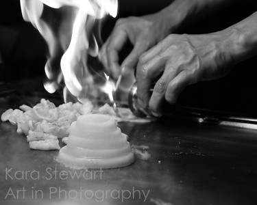 Hibachi 1, black and white