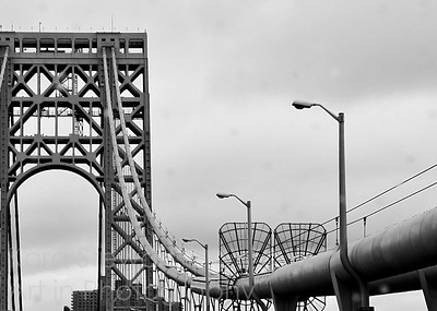 George Washington Bridge in the Rain