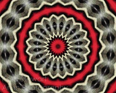 Red Blanket Medallion