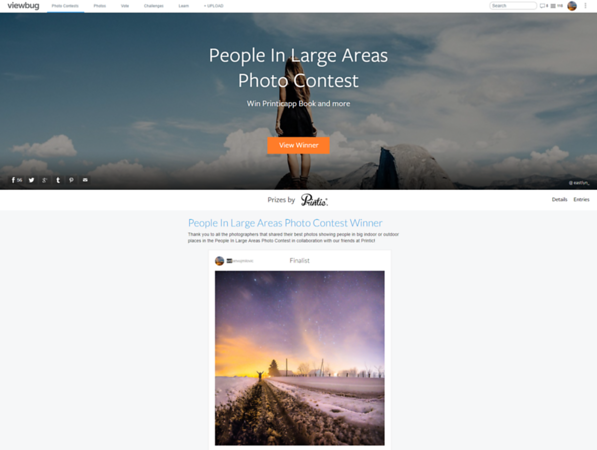 People in Large Areas Photo Contest - Finalist