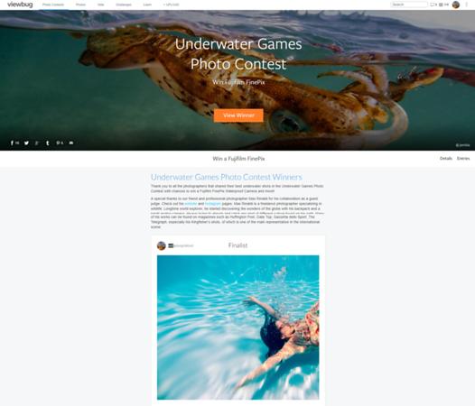 Underwater Games Photo Contest - Finalist