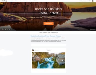 Rocks and Boulders Photo Contest - Finalist