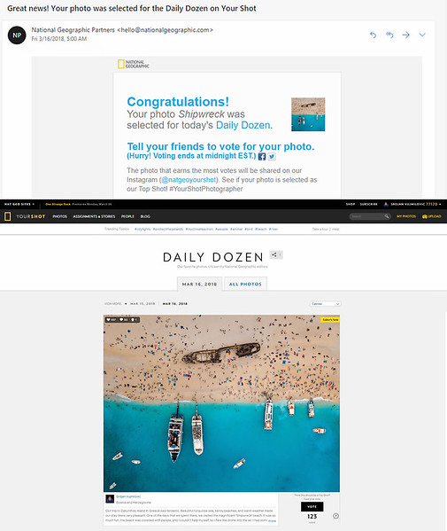 National Geographic Daily Dozen 16.03.2018