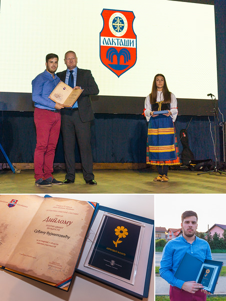 "Award ""Zlatni Cvijet Mladosti 2018"" (The Golden Flower of Youth 2018) for a great contribution and achievement in the field of fine arts"