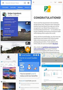 Google Local Guide Pro and Trusted Professional for Hire - Title