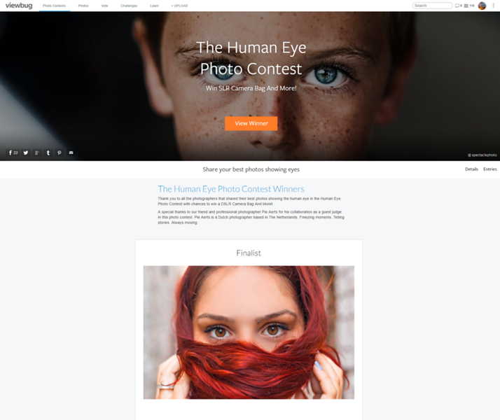 The Human Eye Photo Contest - Finalist