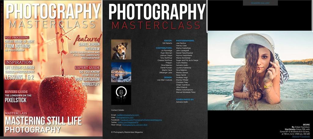 Masterclass Photography Magazine - 26.05.2017 Feature