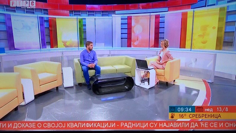 RTRS Jutarnji Program - 13.08.2017 TV Show - Feature