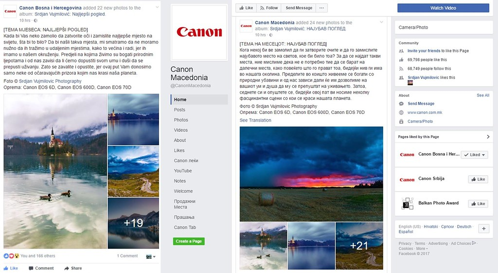 Canon Monthly Theme - The Best View