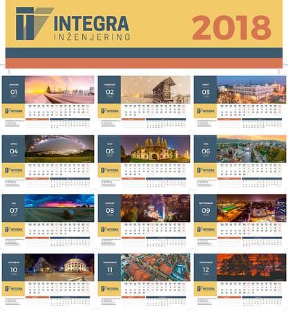 Integral 2018 Calendar