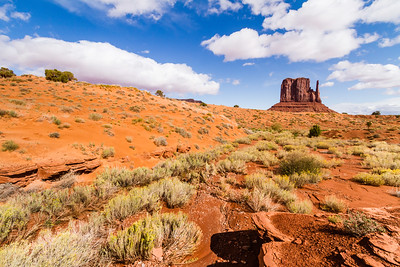 """West Mitten Butte"" Monument Valley"