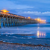 """Edwin S. Taylor Fishing Pier at Twilight"""