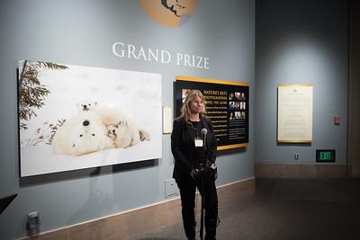 Daisy Gilardini, the Grand Prize Winner.