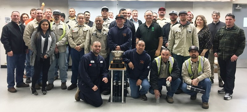 City of Palo Alto Utilities Electric Operations Safety Award for 2017