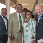 Andre Wilson, Ken and Carolle Jones Clay and former Louisville Mayor Dave Armstrong.