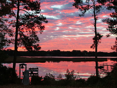 "David Keener - ""Shallotte River Dawn"" - Winyah Rivers Foundation 2009 Photo Contest - Best in Show -  Scenic"
