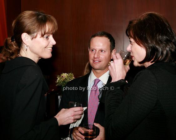 Heather Morgan, Allan Bloom, Erika Collins